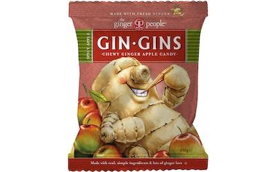 Gin Gins inkiväärimakeinen 150g Omena
