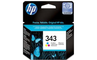 HP 343 kolmivärimustekasetti