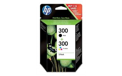 HP 300 combo mustekasettipakkaus
