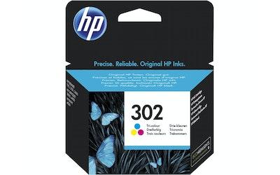 HP 302 kolmivärimustekasetti