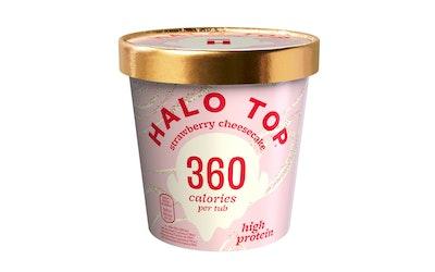 Halo Top jäätelö 473ml Strawberry Cheesecake