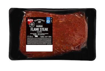 Tamminen n 500g naudan maustetty flank steak