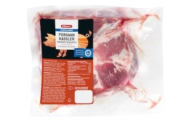 Pirkka suomalainen porsaan kassler miedosti suolattu n.1,2kg