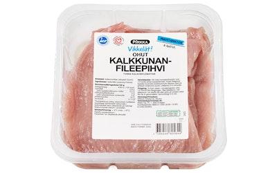 Pirkka suomalainen ohut kalkkunanfileepihvi 6kpl/n.600g