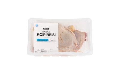 Pirkka suomalainen broilerin koipireisi 3kpl/n.1,1kg