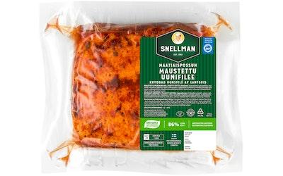 Snellman maatiaispossun uunifilee n1,4kg maustettu