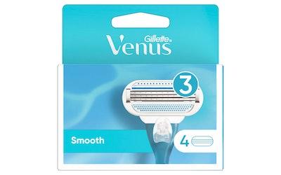 Gillette Venus Smooth vaihtoterä 4kpl