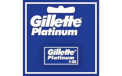 Gillette Platina terä 5-kpl