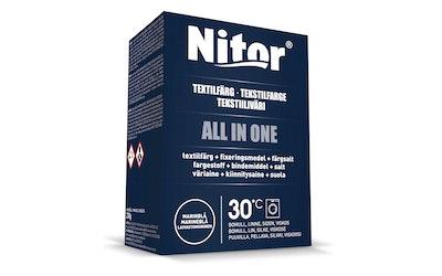 Nitor tekstiiliväri All in one 230g mariini
