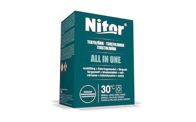 Nitor tekstiiliväri All in one 230g smaragdi
