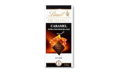 Lindt Excellence karamelli ja merissuola tumma suklaa 100g