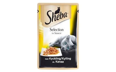 Sheba Cuisine 85g kanaa kastikkeessa annospussi