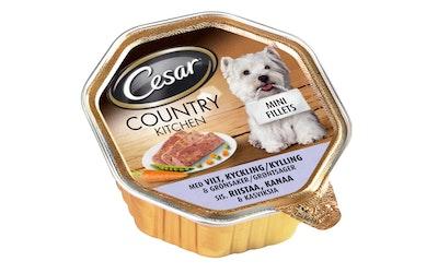 Cesar Country 150g riista kana kasvis
