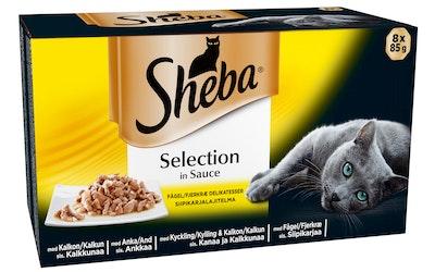 Sheba Selection 8x85g Siipikarja