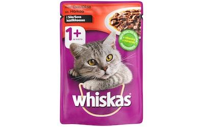 Whiskas 1+ Härkää kastikkeessa 100g