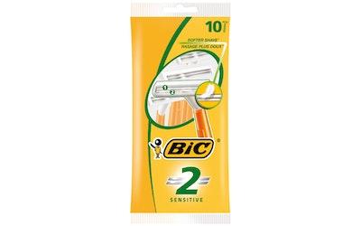 BIC 2 Sensitive varsiterä 10 kpl