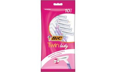 BIC Twin lady Sensitive varsiterä 10 kpl