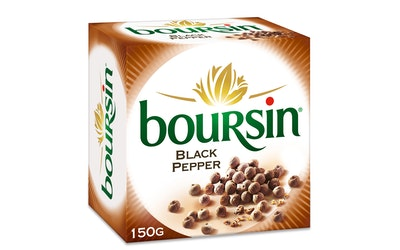 Boursin 150g pippuri tuorejuusto