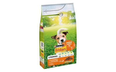 Friskies Mini Menu Kanaa ja lisättyjä Kasviksia 1,5kg koiranruoka