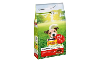 Friskies Mini Menu Lihaa & Viljaa 1,5kg koiranruoka
