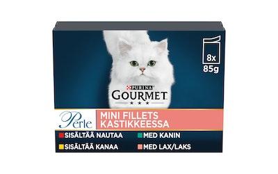 Gourmet Perle Mini Fillets kastikkeessa 8x85g kissanruoka