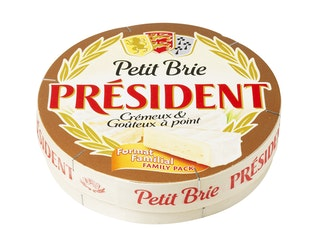 Président Petit brie 500g valkohomejuusto