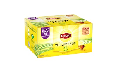 Lipton Yellow Label Teal 50 teepussia
