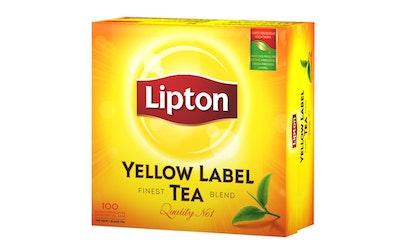 Lipton Yellow Label tea 100 teepussian Rainforest Alliance