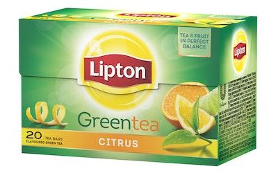 Lipton Clear Green Tea Citrus 20 teepussia