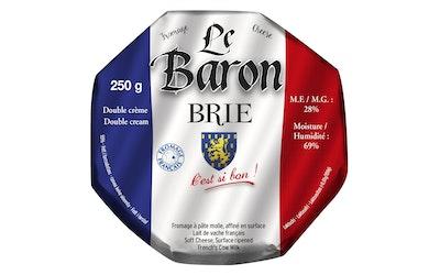 Le Baron brie valkohomejuusto 250g
