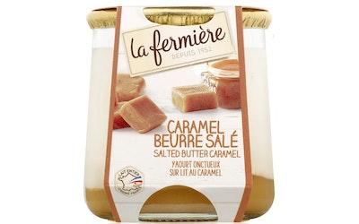 La Fermière suolakaramellijogurtti 160g