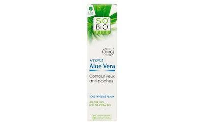So BiO Aloe Vera Anti-Puffiness silmänympärysvoide 15ml