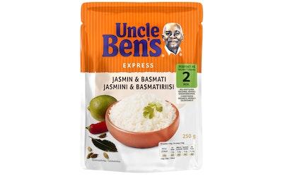 Uncle Ben's jasmiini & basmati valmisriisi 250g