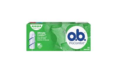 o.b. Pro Comfort 16 kpl Super Plus Tamponi
