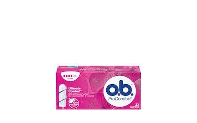 O.B. ProComfort super 32kpl tamponi