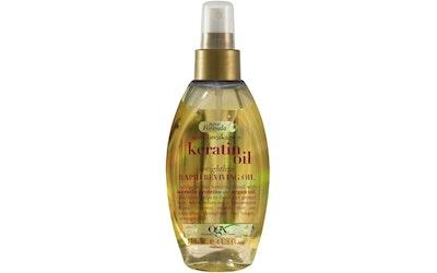 OGX kuivaöljy 118ml Keratin Oil Heal spray - kuva
