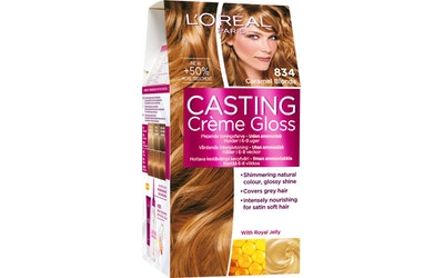L'Oréal Paris Casting Crème Gloss 834 Caramel Blonde Luonnonvaalea Kupari Kulta