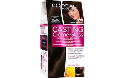 L'Oréal Paris Casting Crème Gloss 323 Dark Chocolate tummanruskea