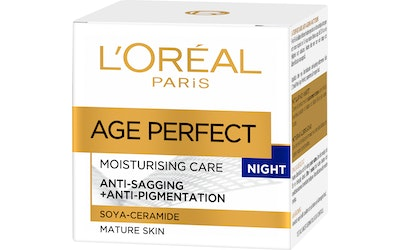 Loreal yövoide 50ml Age Perfect Moisturing