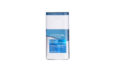 L'Oréal Paris Hellävarainen meikinpoistoaine silmille ja huulille 125ml