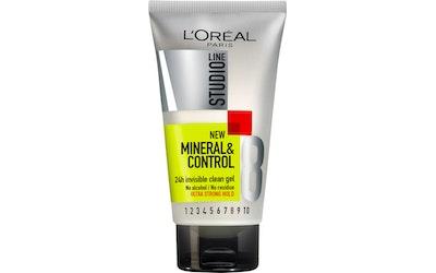 L'Oréal Paris StudioLine muotoilugeeli 150ml Mineral&Control ultravoimakas - kuva