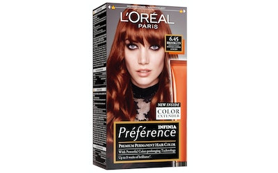 Loreal Paris Recital Preference kestoväri 6.45 Brooklyn Punaruskea kupari