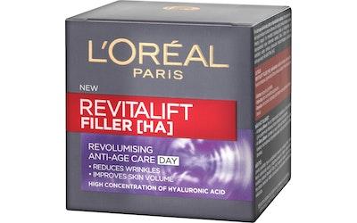 Loreal Paris päivävoide 50ml Revitalift Filler anti-age
