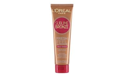 L'Oréal Paris Sublime Bronze 150ml Itseruskettava läpinäkyvä geeli kasvoille ja vartalolle