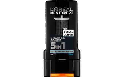 L'Oréal Paris Men Expert suihkugeeli 300ml Total Clean 5in1