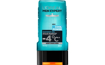 L'Oréal Paris Men Expert suihkugeeli 300ml Cool Power