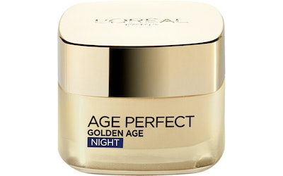 L'Oréal Paris Age Perfect 50ml Golden Age Night vahvistava ja kaunistava yövoide