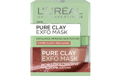 L'Oréal Paris Pure Clay Exfo Mask kuoriva kasvonaamio 50ml
