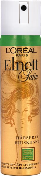L Oréal Paris Elnett Satin hiuskiinne hajusteeton erittäin voimakas 75ml –  K-Ruoka 91d27ac18b