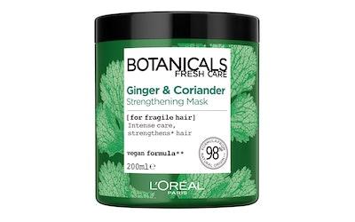 L'Oréal Paris Botanicals 200ml Coriander Strength Cure hiusnaamio hennoille hiuksille